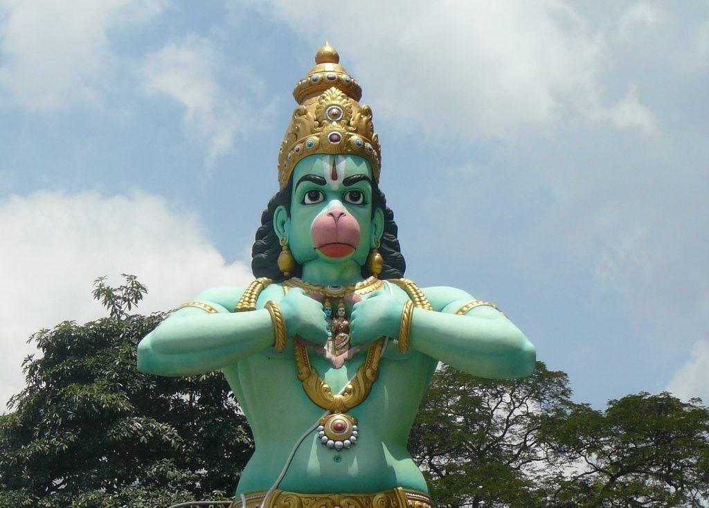 statua hanuman